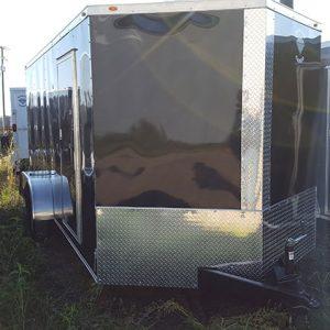 7x12 Enclosed Trailer